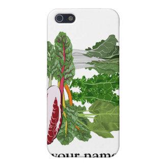 Las verduras verdes personalizaron iphone del Vegg iPhone 5 Cárcasa