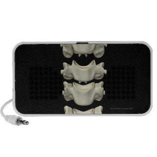 Las vértebras cervicales 7 iPod altavoces