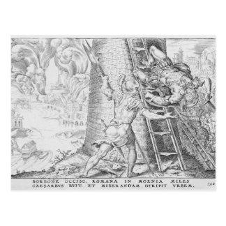 Las victorias de Charles V, 1527 Postal