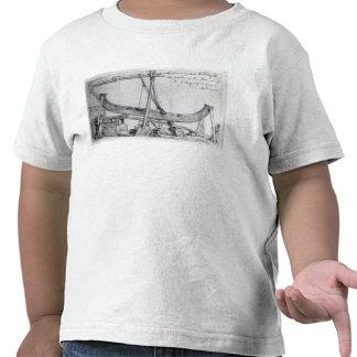 Las vigas móviles del hierro usadas construyen el  camisetas
