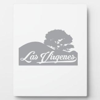 Las Virgenes Landscape Dark Grey Plaque
