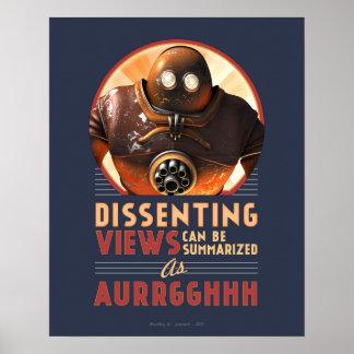 Las visiónes disidentes pueden ser el poster