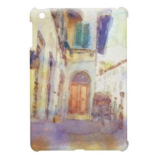 Las vistas de Florencia hicieron en acuarela artís