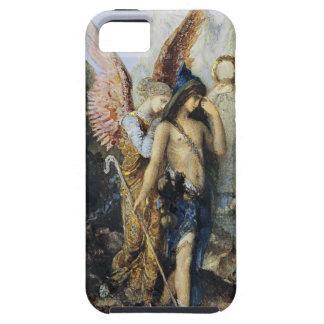 Las voces, acuarela de Gustave Moreau iPhone 5 Cárcasas