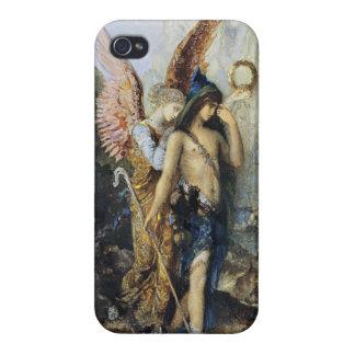 Las voces, acuarela de Gustave Moreau iPhone 4 Carcasa