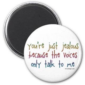 Las voces imán redondo 5 cm