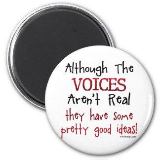 Las voces no son refrán divertido real imanes