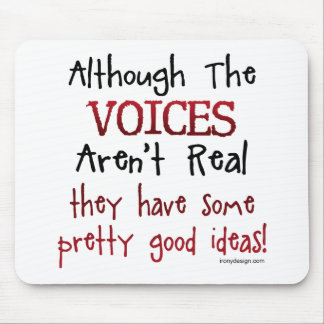 Las voces no son refrán divertido real tapetes de raton
