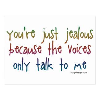 Las voces postal