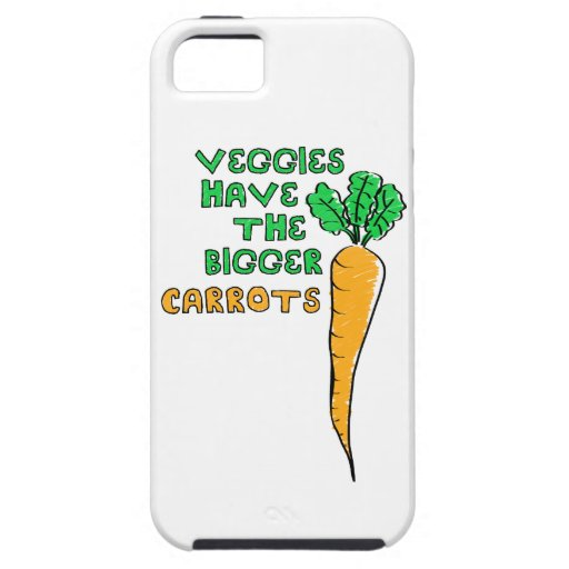Las zanahorias de los Veggies iPhone 5 Case-Mate Carcasa