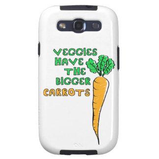 Las zanahorias de los Veggies Samsung Galaxy S3 Coberturas