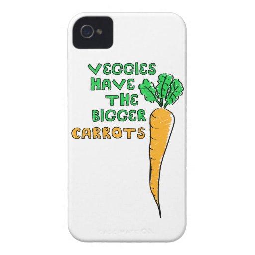 Las zanahorias de los Veggies iPhone 4 Cobertura