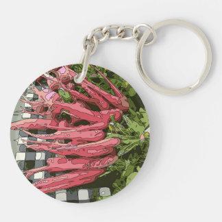 ¡Las zanahorias jugosas frescas perfeccionan para Llaveros