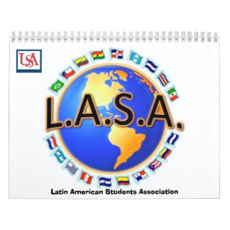 LASA Latin American Students Association Calendar