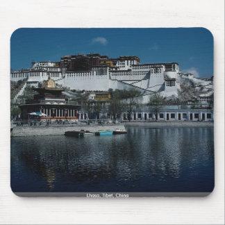 Lasa, Tíbet, China Alfombrillas De Ratón
