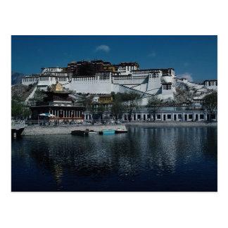 Lasa, Tíbet, China Tarjeta Postal