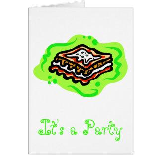 Lasagna Card
