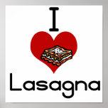 Lasagna de amor y odio I Poster
