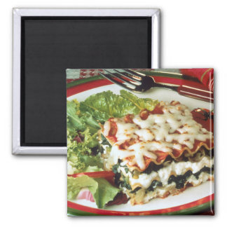 Lasagna Dinner Fridge Magnets