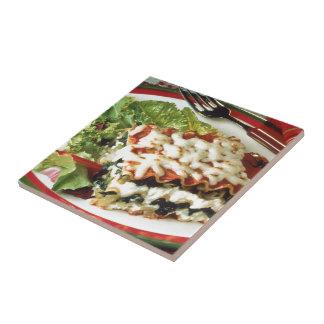 Lasagna Dinner Tile