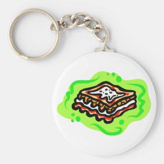 Lasagna Keychain