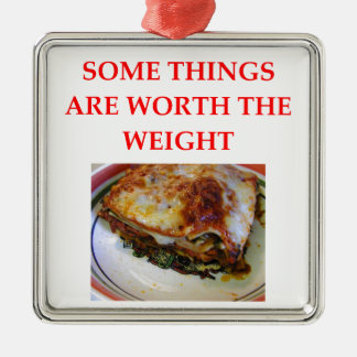 LASAGNA METAL ORNAMENT