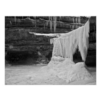 Lasalle Canyon - Starved Rock State Park Poster
