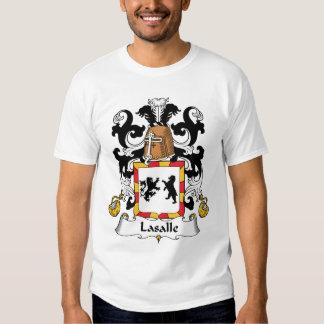 LaSalle Family Crest Tee Shirt