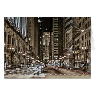 LaSalle St. Stationery Note Card