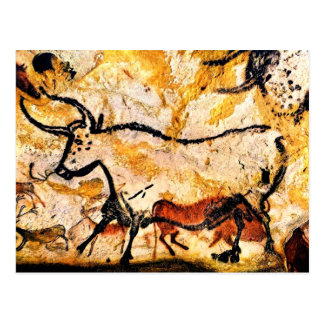 Lascaux Cave Painting of Bull Postcard