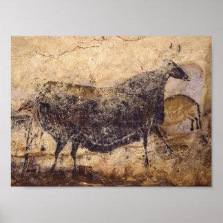 Lascaux Cave painting Poster