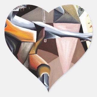 Lascaux - Custom Print! Heart Sticker