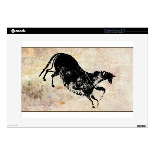 "Lascaux Galloping Horse 15"" Laptop Skin"