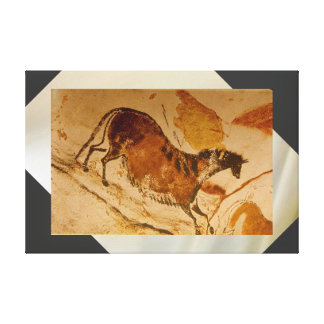 Lascaux Galloping Horse Gallery Wrapped Canvas