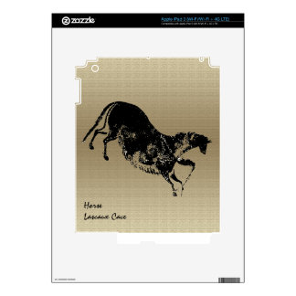Lascaux Galloping Horse Decals For iPad 3