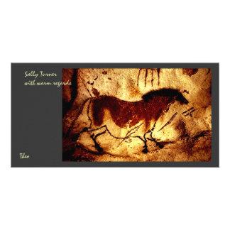 Lascaux Horse Card