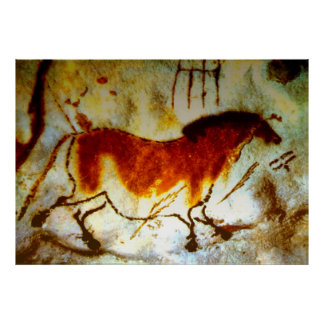 Lascaux Horse (Extra Large) Posters