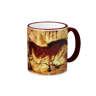 Lascaux Horse Ringer Mug