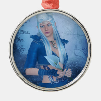 LaSea.jpg Metal Ornament
