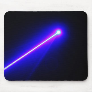 Laser Beam Abstract photo mousepad