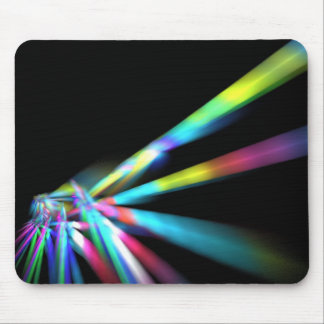 Laser Beam Mouse Pad