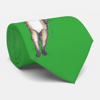 'Laser Bin' Green Tie