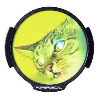 laser cat eyes, glowing eyes LED car decal LED Window Decal