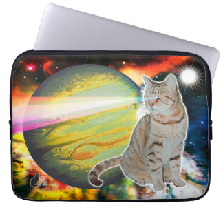 Laser-Cat Mossbody Laptop Sleeve