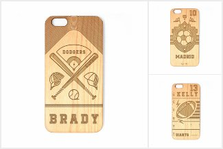 Laser Engraved Phone Cases