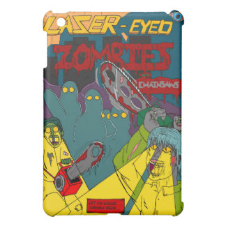 Laser-Eyed Zombies with Chainsaws iPad Case