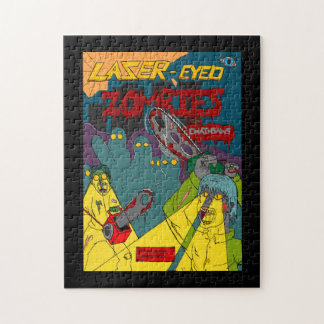 Laser-Eyed Zombies with Chainsaws Puzzle