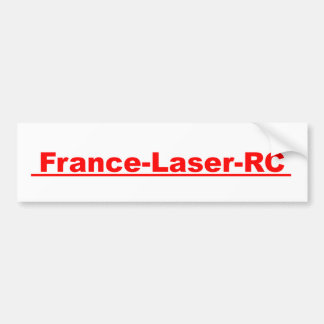 Laser France RC red Classic Bumper Stickers