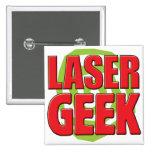 Laser Geek Pins
