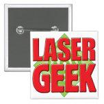 Laser Geek v2 Pinback Buttons